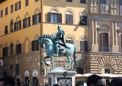 Equestrian statue of Cosimo I - Piazza della Signoria