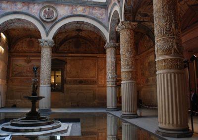 Museum of Palazzo Vecchio - inner courtyard